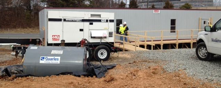 Temp-Power rents temporary power equipment for construction sites in Virginia, Maryland and Washington DC