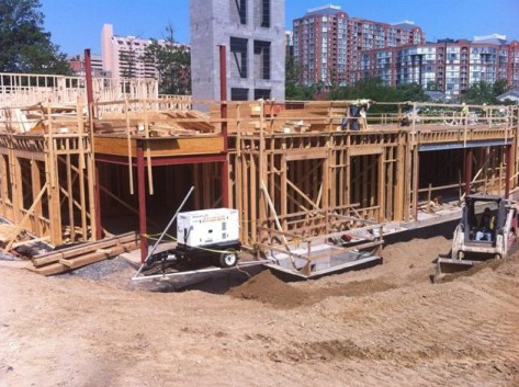 Temporary Power Rentals for Construction Sites in Virginia, Maryland and Washington DC