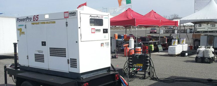 Temp-Power rents temporary power equipment for events in Virginia, Maryland and Washington DC