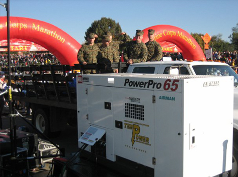 Temporary Power Rentals for Events in Virginia, Maryland and Washington DC