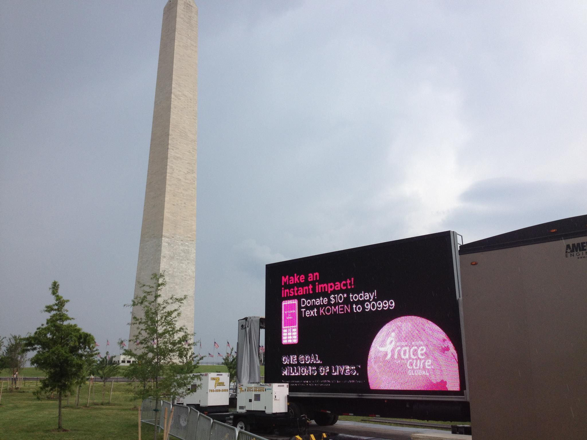 Race for the Cure Event, Washington DC